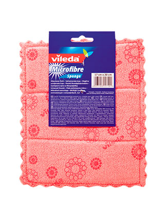 Vileda Micro & Sponge Cloth