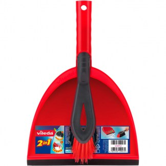 Vileda 2 in 1 Dustpan and Brush