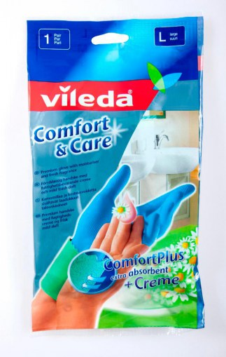 Vileda Comfort & Care gloves L