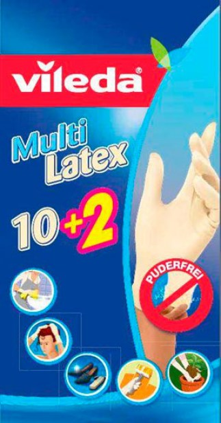 Vileda Gloves Multi 10+2